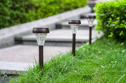 Solario garden decor solar powered lights set of 10 - Decorative garden lights solar powered ...
