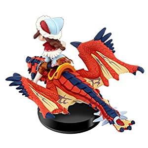 One-Eyed Rathalos and Rider (Female) - Monster Hunter Stories from Nintendo