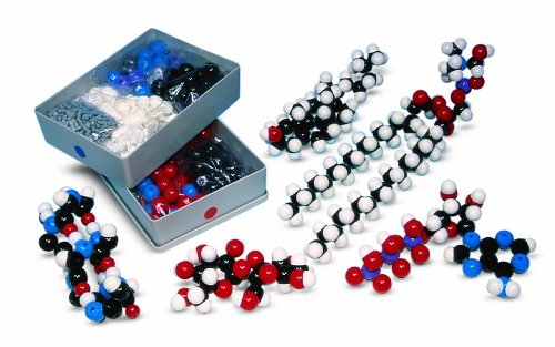Molymod MMS-007 Biochemistry Model, Teacher Set (262 atom parts)