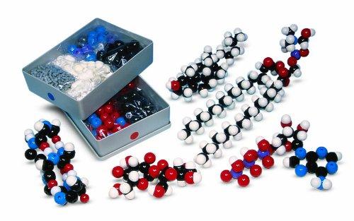 Molymod MMS-007 Biochemistry Model, Teacher Set (262 atom parts) by Molymod (Image #1)