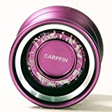 Magic Yo-Yo Carpfin Aluminum Performance Yo-Yo (Purple Series 2)