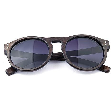 Gxy Gafas de Sol polarizadas de Madera para Hombres y ...