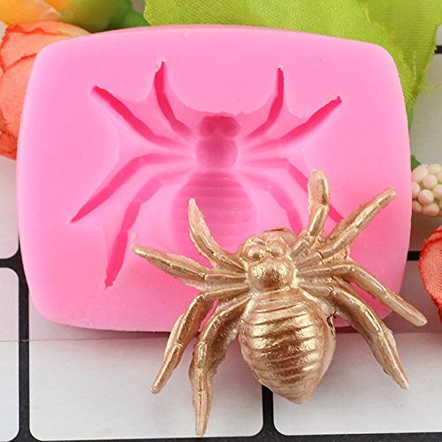 Cookie cutter |Baking Tools |Halloween Bat Spider Finger Brain Beetle Shape Silicone Moulds Fondant Chocolate Cake Decoration Baking Molds|By TINI