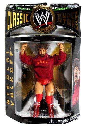 WWE Classic Series 5 Nikolai Volkoff Wrestling Figures