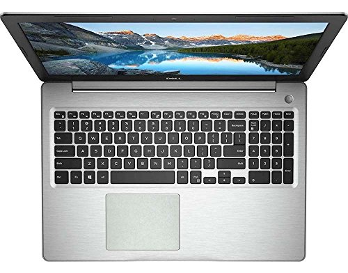 BingoBuy Touchpad Trackpad Decal Sticker Skin Cover Protector for Dell Inspiron 15-5000 series (15-5570, matte silver)