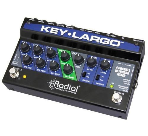 【保証書付】 Radial Key-Largo Keyboard [並行輸入品] Keyboard Mixer B07FRW8R2Q and Performance Pedal [並行輸入品] B07FRW8R2Q, キシモトチョウ:513bf2dc --- arianechie.dominiotemporario.com
