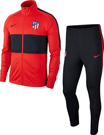 Nike Chándal Hombre Atletico De Madrid 2019/2020 Rojo/Negro AQ0779 ...