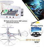 Syma-X5SW-with-Extra-2pcs-Battery-4CH-24G-6-Axis-Gyro-Headless-Remote-Controlled-FPV-Quadcopter-Drone-with-03MP-HD-Wifi-Camera-for-Real-Time-Video-Transmission