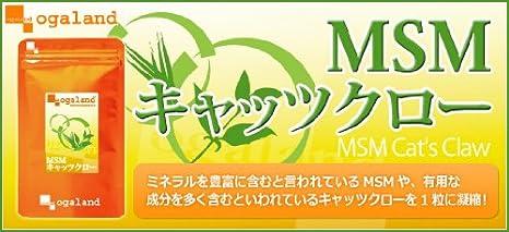 Amazon | お徳用MSM&キャッツク...