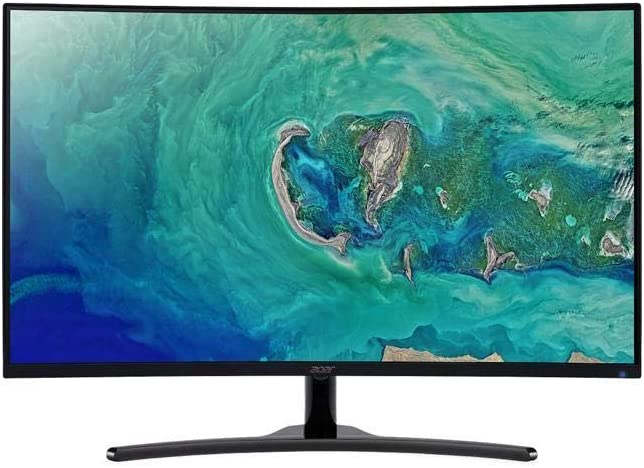 "Acer ED322QR Pbmiipx UM.JE2AA.P01 32"" (Actual Size 31.5"") Full HD 1920 x 1080 4ms (GTG) 144 Hz HDMI, DisplayPort Built-in Speakers Curved Gaming Monitor Model UM.JE2AA.P01"