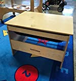 KS-PL1827BIR STATION TODDLER SENSORY TABLE WITH LID