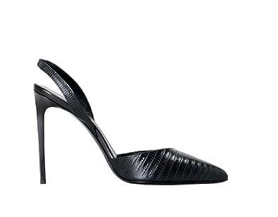 Noir Saint Femme Yves Laurent Escarpins Noir37 Pour jL34c5ASRq