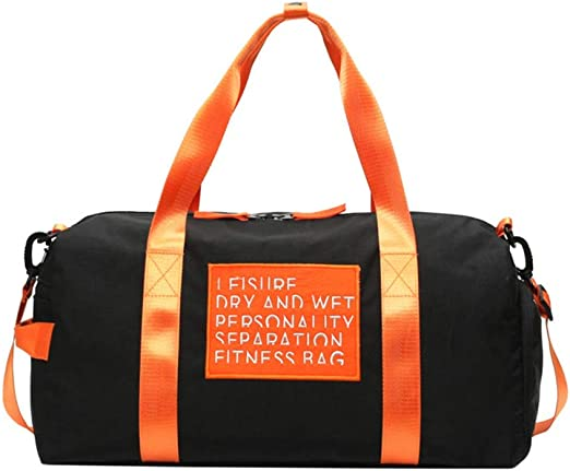 Men Women Sport Gym Bag Waterproof Travel Handbag Duffel Shoulder Bag Backpack