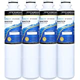 EXCELPURE Samsung DA29-00020B Refrigerator Water Filter Comparable Replacement for Samsung DA29-00020B, DA29-00020A, DA2900020B, HAF-CIN/EXP, 46-9101,HDX FMS-2 - 4 PACK