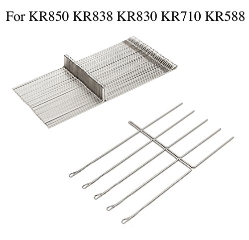 50 pcs/set Knitting Machine Needle Steel Needles Set For Brother Ribber Knitting Machine KR850 KR838 KR830 KR710 KR588 Durable Fabric Sewing DIY Craft Tools