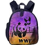 WWF Panda Bear Wrestling Little Kids Toy Bag