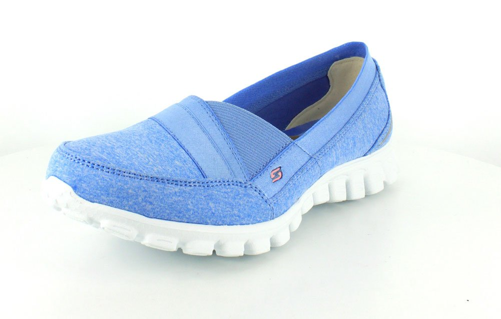 Skechers Damen Ez Flex 2 Fascination Geschlossene Ballerinas  US 5.5 | UK | 35.5|Lite Blue