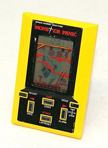 EPOCH エポック社 モンスターパニック(MONSTER PANIC) LSIゲーム(電子ゲーム/液晶ゲーム/LCDゲーム) ポケットデジコムシリーズ