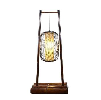 MJMYDT LYX® Lámpara de pie, Swing Bamboo Southeast Asia ...