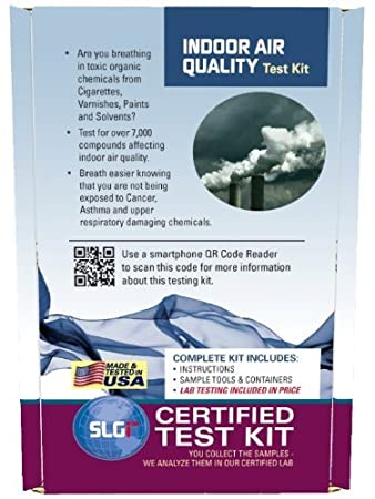 Amazon.com: Indoor Air Quality Test Kit 1 PK (5 Bus. Days ...