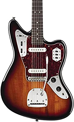 Squier Vintage Modified Jaguar Electric Guitar, Rosewood Fingerboard, 3-Tone Sunburst