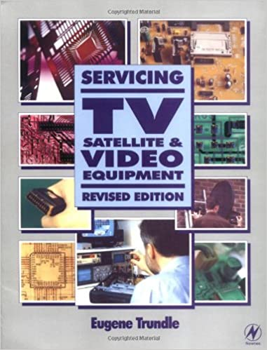 Book Servicing TV, Satellite and Video Equipment