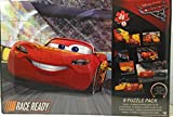 Cars 3 - 24 Piece - 8 Different Puzzle Pack - Featuring: Lightning McQueen, Jackson Storm & Cruz Ramirez