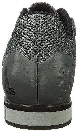 3 ironmt Gris Powerlift Homme silvmt cblack Adidas Multisport Indoor Chaussures qaRwyxazS5