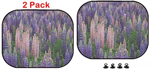 Luxlady Car Sun Shade Protector Block Damaging UV Rays Sunlight Heat for All Vehicles, 2 Pack Image ID: 29578662 Thousands of Colorful Wild Flowers Blooming in Newfoundland (Newfoundland Flowers)