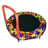 Bazoongi Bouncer Trampoline, 48 pulgadas, camuflaje naranja