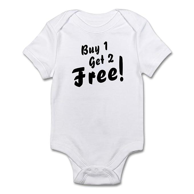 Amazon.com: CafePress – trillizos b1g2 libre Funny Baby Body ...