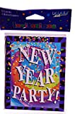 New Year's Eve Party Invitaion Cards Set of 8