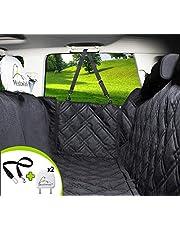Meadowlark® Housse de siège pour Chien Voiture Universelle Imperméable! Protection complète Banquette arrière vehicule + portières + 2 appuis-tête. Couverture pour Animaux de qualité supérieure!