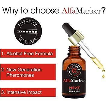 Pheromones to Attract Women Alfamarker Men s Pheromone Highly Concentrated Human Pheromone Formula Sexy Fragrant Oil Perfume for Men 5 ml AlfaMarker Sens