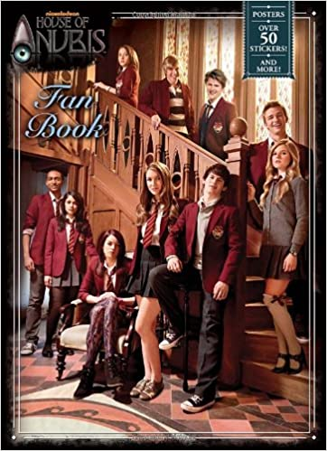 House Of Anubis Fan Book (House Of Anubis) (Full Color Activity Book With  Stickers): Amazon.co.uk: Golden Books: 9780307980731: Books