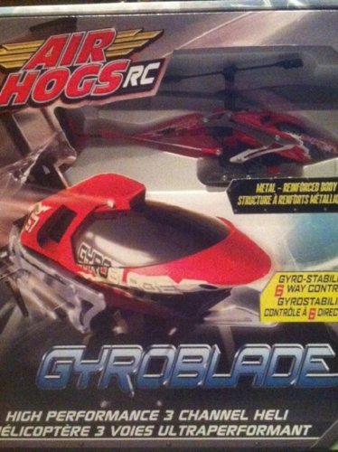Air Hogs Radio Controlled Helicopter (Air Hogs® Gyroblade™ - Red/Black)
