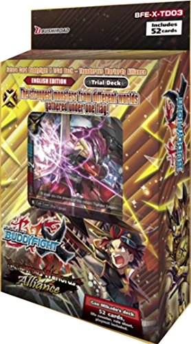 Buddyfight Thunderous Warlords Alliance Starter V-3 Trial Deck -- 52 cards TCG English