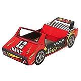 BirthdayExpress Racecar Racing Party Supplies - Race Car Cardboard Stand In Photo Prop