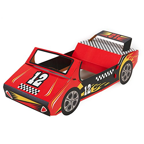 BirthdayExpress Racecar Racing Party Supplies - Race Car Cardboard Stand In Photo Prop by BirthdayExpress