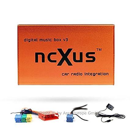 ncXus V3 Pro - Cargador de USB, SD, MP3 y CD (8 Pines + Panel de ...