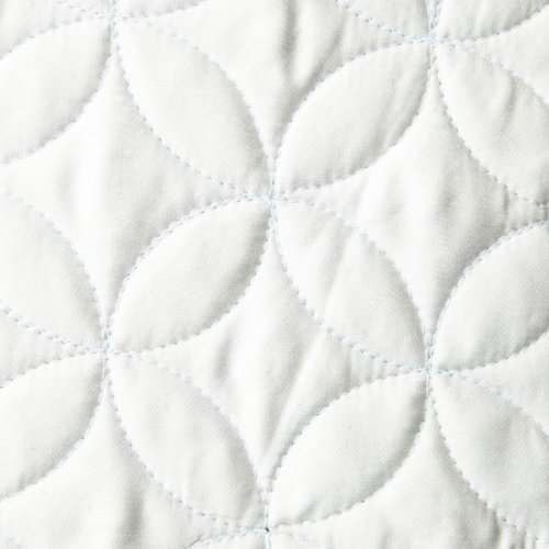 Tuscany Fine Linens Livorno Beechwood Modal Quilted Coverlet Set, Seafoam, Queen Oversized by Tuscany Fine Linens (Image #1)