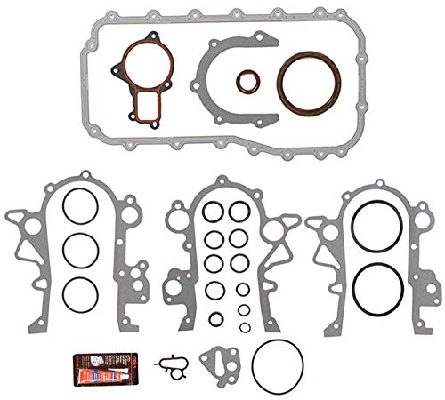 Oil Gasket Set for 90-08 Chrysler Pacifica Town and Country Dodge Grand Caravan Intrepid 3.3L 3.8L V6 VIN Codes L P 3 R with Sealant by Detoti Auto