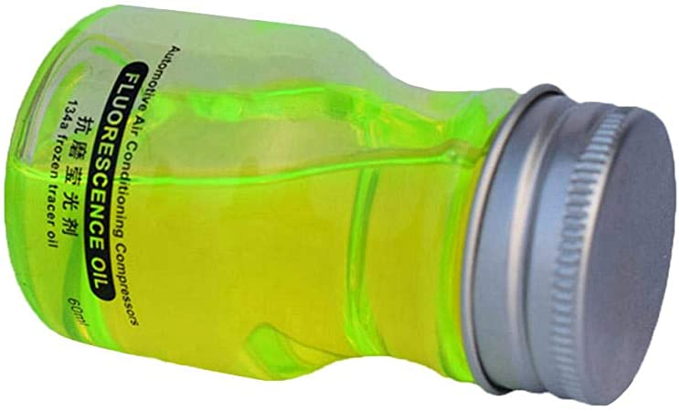 60ML Prueba de detector de fugas de aceite fluorescente ...