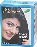 Noorani Henna Based Hair Color and Herbal Powder in USA | Ships from California (10 ( 60 Pouch x 10g ), BLACK HENNA)