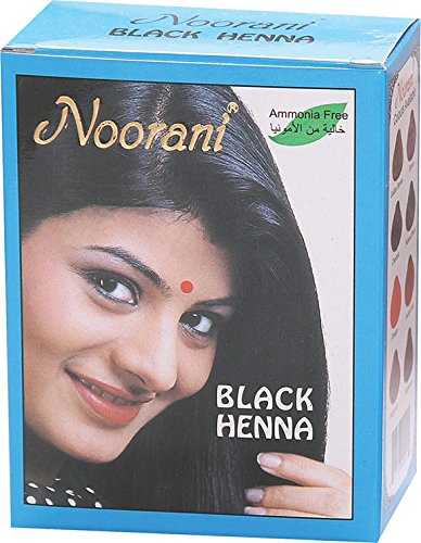 Noorani Henna Based Hair Color and Herbal Powder in USA | Ships from California (10 ( 60 Pouch x 10g ), BLACK HENNA) by Noorani (Image #8)