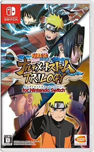 Game Video Naruto (NARUTO - Naruto Shippuden Narutimate Storm Trilogy for Nintendo Switch Japanese ver.)