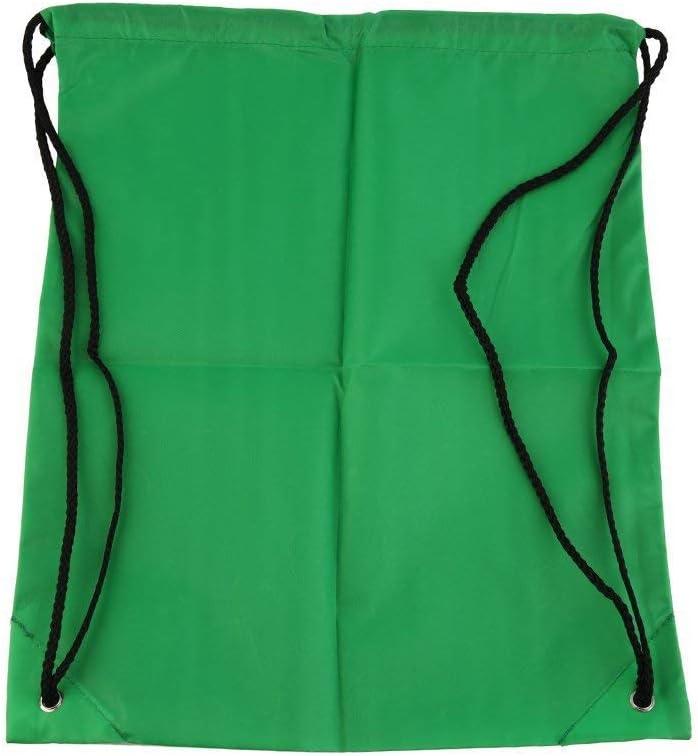 Leoboone Cord/ón de Nylon Resistente al Agua Resistente Asas de asa Sujetadores de la Escuela Premium Bolsa de Lona Suave Gimnasio Deportivo Gimnasio de nataci/ón Zapato de Baile Mochila