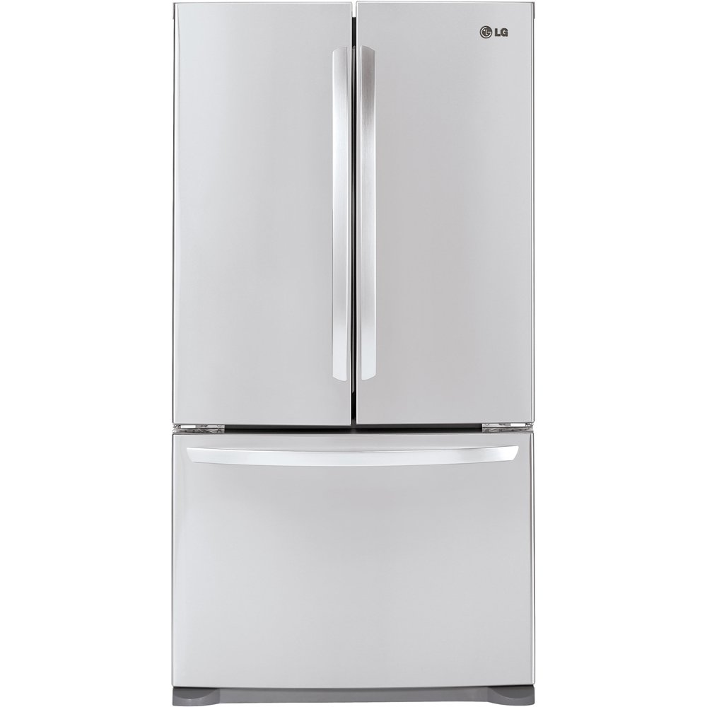 Amazon lg lfc21776st 207 cu ft stainless steel counter ft stainless steel counter depth french door refrigerator energy star appliances rubansaba