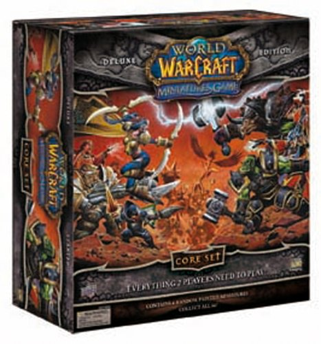 Upper Deck World of Warcraft Miniatures Core Set Deluxe Edition