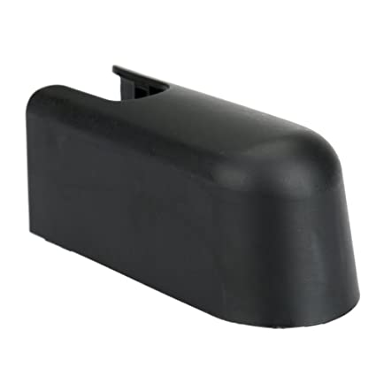 Black Car Rear Wiper Arm Washer Cap Nut Cover For Ford Edge Lincoln Mkx Tz